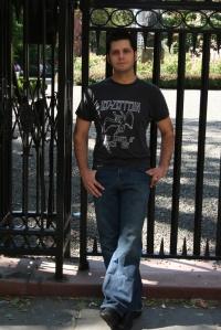 Dion Roy Entrance of Gramercy Park New York City