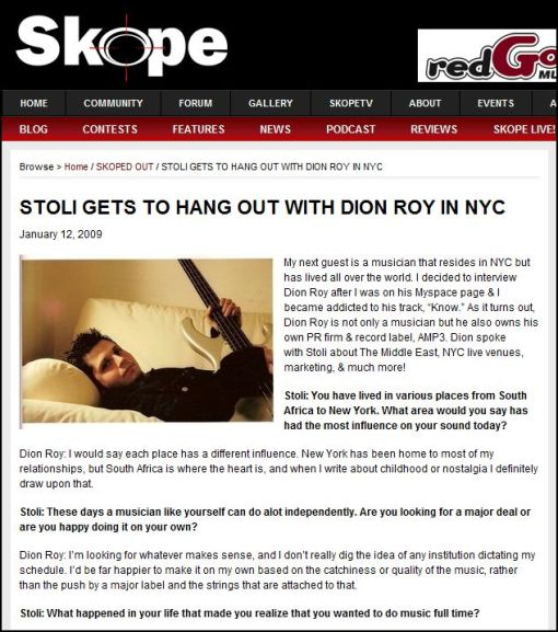 skope mag interviews dion roy