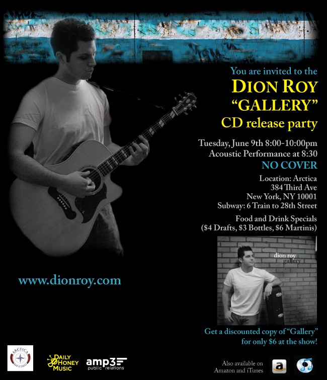 dion roy gallery cd release